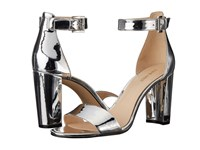 Nine West Nora Silver Synthetic Women's Shoes