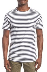 Men's Rhythm 'Standard' Stripe T Shirt