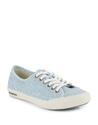 Seavees Monterey Chambray Sneakers Blue