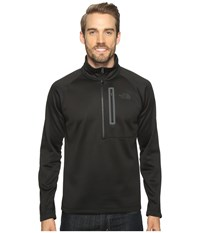 The North Face Canyonlands 1 2 Zip Tnf Black 2 Men's Long Sleeve Pullover
