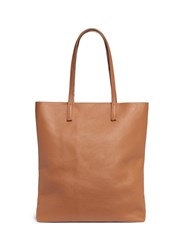 A Esque 'Simple 03' Reversible Leather Tote Brown