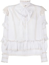Zadig And Voltaire Trinity Blouse White