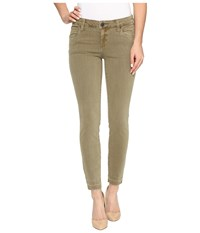 Kut From The Kloth Connie Ankle Skinny With Released Hem In Olive Olive Women's Jeans