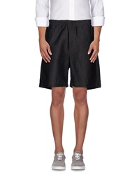 Mauro Grifoni Trousers Bermuda Shorts Men Steel Grey