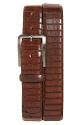 Men's Remo Tulliani 'Dara' Leather Belt Brown