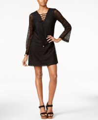 Jessica Simpson Lace Bell Sleeve Shift Dress