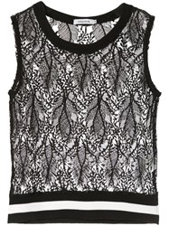 Guild Prime Sleeveless Lace Top Black