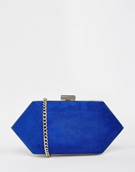 Miss Kg Box Clutch Bag Blue