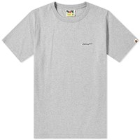 A Bathing Ape Pigment Patch Tee Grey