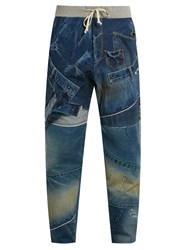Kuro Remake Patchwork Jeans Blue