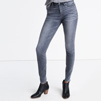Madewell 9 High Rise Skinny Jeans In Shaw Wash