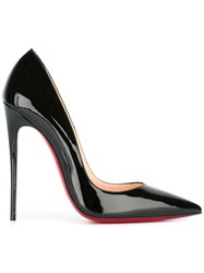Christian Louboutin Stiletto Heel Pointed Toe Classic Pump Black