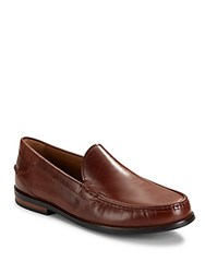 Cole Haan Leather Loafers Papaya Mink