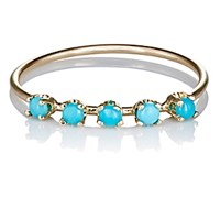 Loren Stewart Women's Turquoise Cabochon Ring No Color