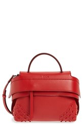 Tod's 'Micro Wave' Leather Satchel
