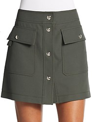 Emilio Pucci Cargo Mini Skirt Green
