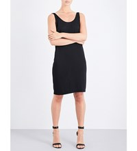 Wolford Shiny Lace Up Knitted Dress Black