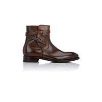 Harris Burnished Jodhpur Boots Dk.Brown