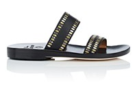 Calleen Cordero Adella Leather Sandals Black