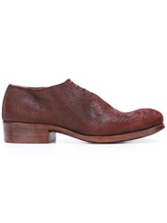 Dimissianos And Miller Lace Up Derbies Red