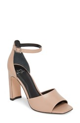 Marc Fisher 'S Ltd Harlin Ankle Strap Sandal Tan Leather