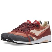 Diadora N9000 H C Sw Made In Italy Burgundy