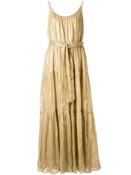 Ginger And Smart Glorious Metallized Maxi Dress 60