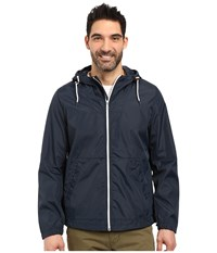 Nautica Hoodied Bomber Jacket True Navy Men's Coat