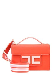 Elisabetta Franchi Across Body Bag Lacca Confetto Orange