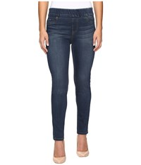 Liverpool Petite Sienna Leggings Pull On In Petrol Wash Petrol Wash Women's Jeans Blue