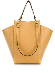 Coccinelle Madelaine Leather Tote Brown
