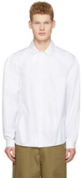 J.W.Anderson White Bold Shoulder Shirt