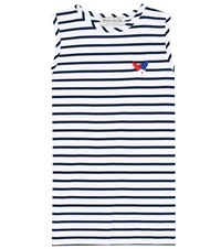 Etre Cecile Cotton T Shirt Blue