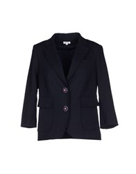Manoush Suits And Jackets Blazers Women Dark Blue