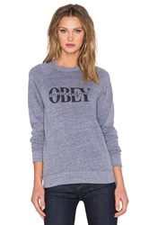 Obey Halfway There Sweatshirt Gray