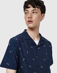 Native Youth Toucan Shirt In Navy