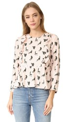 Paul And Joe Sister Devon Blouse Rose Pale