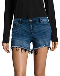 Calvin Klein Frayed Denim Shorts Miller