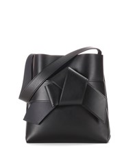 Acne Studios Exclusive To Mytheresa.Com Musubi Leather Shopper Black