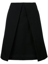 Astraet Layered A Line Skirt Black