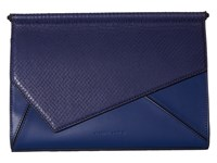 Kendall Kylie Ginza Clutch Midnight Navy Clutch Handbags Blue