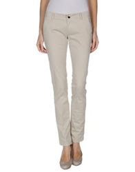 Camouflage Ar And J. Casual Pants Light Grey