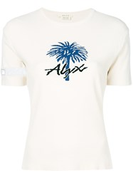 Alyx Printed T Shirt White