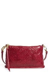 Hobo 'Small Cadence' Leather Crossbody Bag Red Damask Red Plum