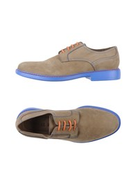 Manuel Ritz Footwear Lace Up Shoes Men Beige