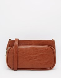 Liquorish Cross Body Bag Tan