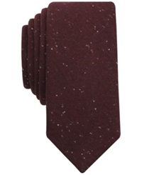 Bar Iii Drew Solid Tie Only At Macy's Burgundy