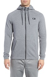 Nike Men's Msw Zip Fleece Training Hoodie Carbon Heather