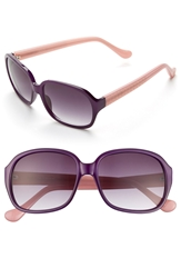 Ivanka Trump 60Mm Sunglasses Purple
