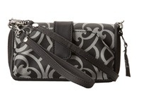 Petunia Pickle Bottom Glazed Whereabouts Wallet Casbah Nights Cross Body Handbags Black
